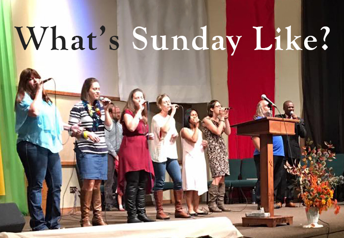 What's Sunday Like at Cornerstone Bible Church